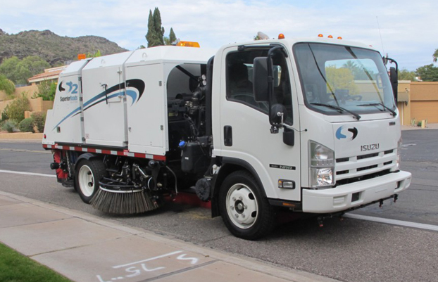Street Sweeper Superior Roads S2